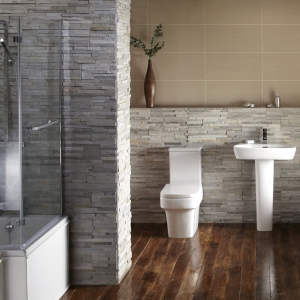 Blok Shower Bath Suite