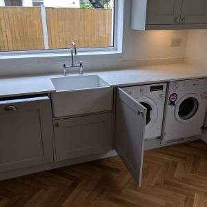 Bosch Integrated Washing Machine and Dryer