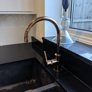 1810 Copper Tap and Sink
